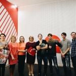 Ачинский драмтеатр поздравил информационных партнеров с днем телевидения 3