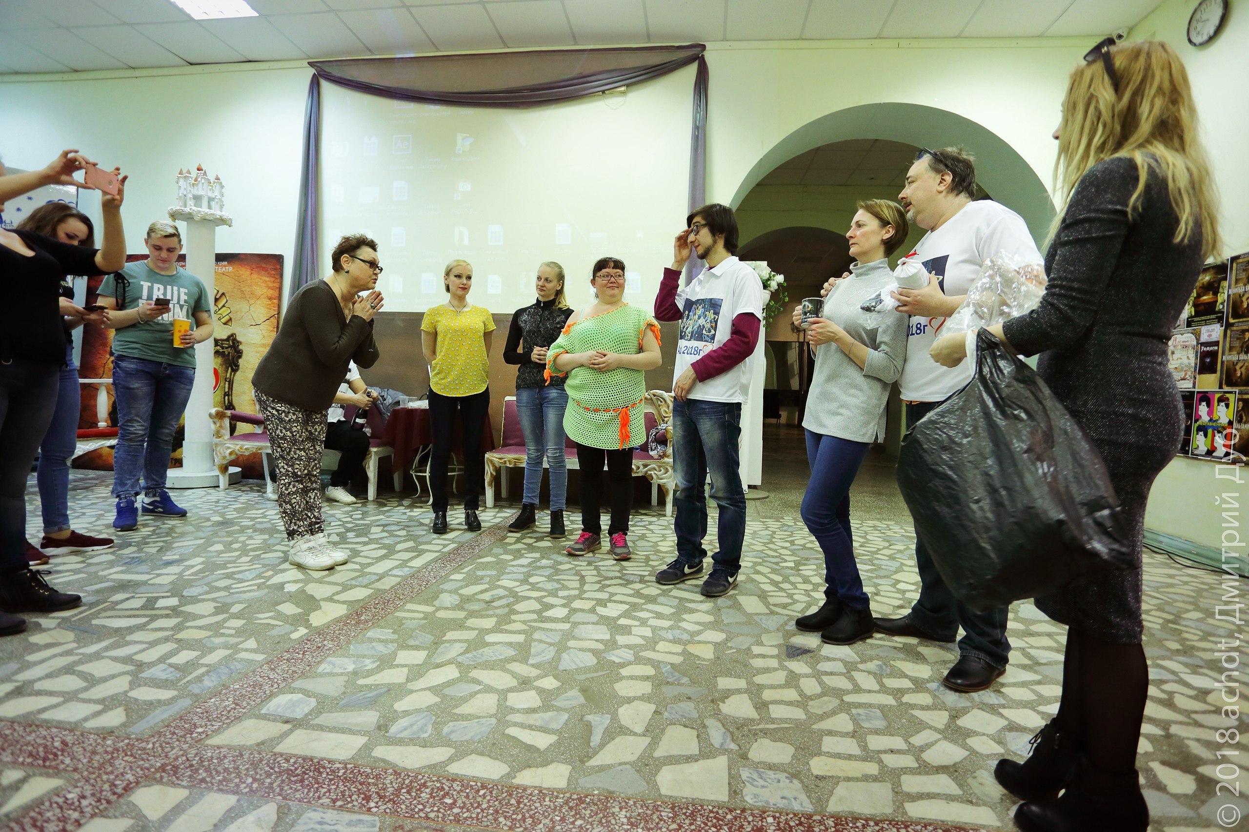 Артисты Ачинской драмы выражают благодарность (2)