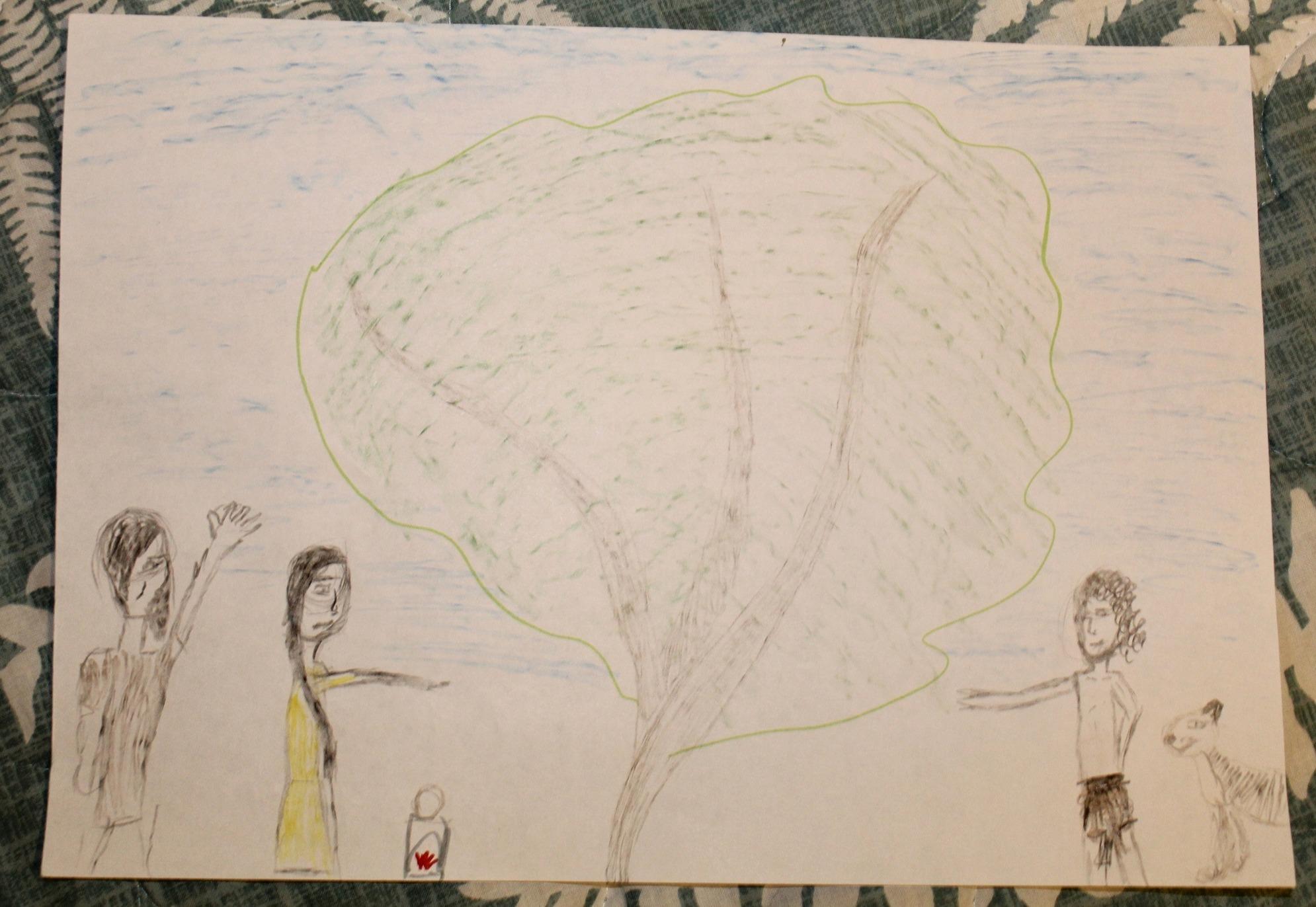 Конкурс рисунков на тему Маугли и Лия. История любви (5)
