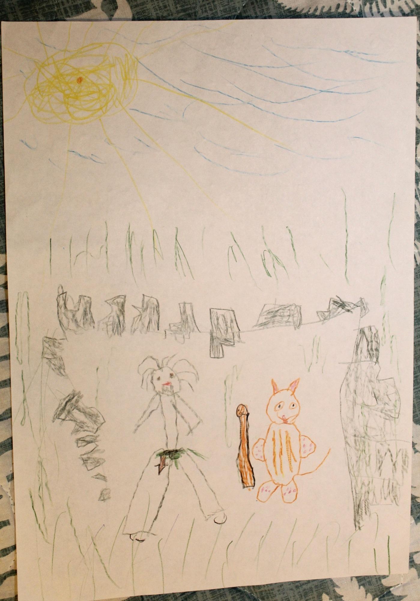Конкурс рисунков на тему Маугли и Лия. История любви (6)