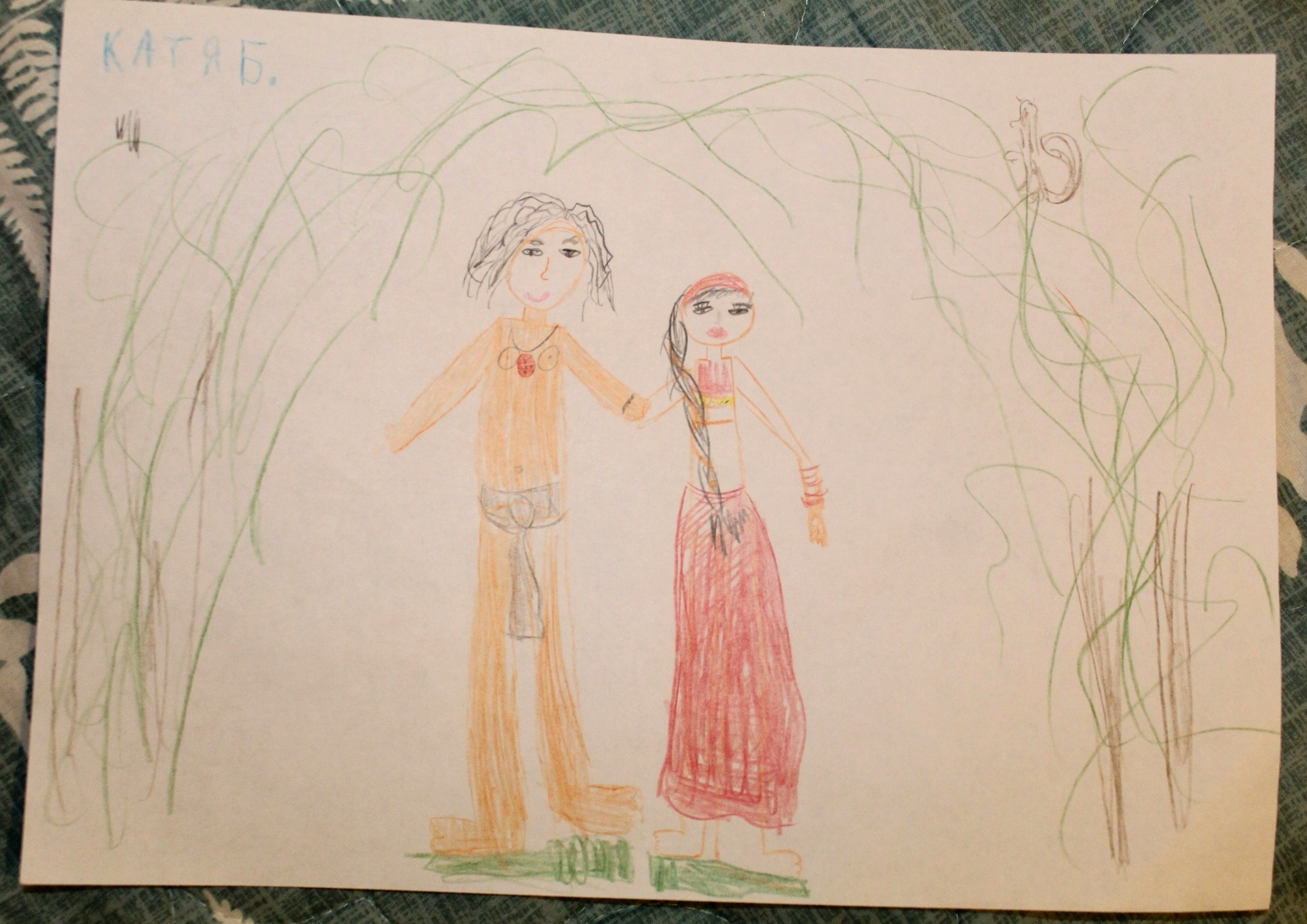 Конкурс рисунков на тему Маугли и Лия. История любви (7)