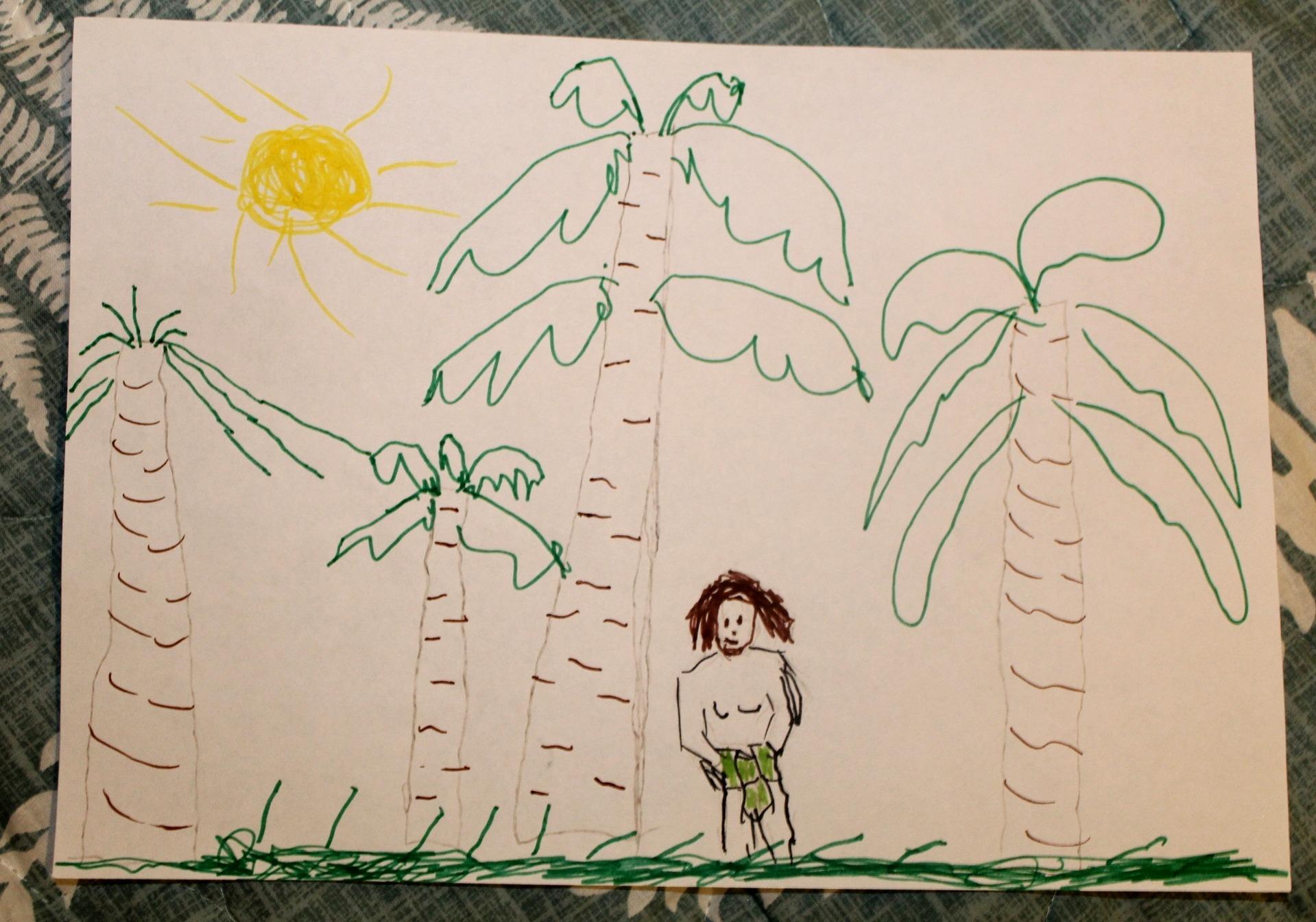 Конкурс рисунков на тему Маугли и Лия. История любви (8)