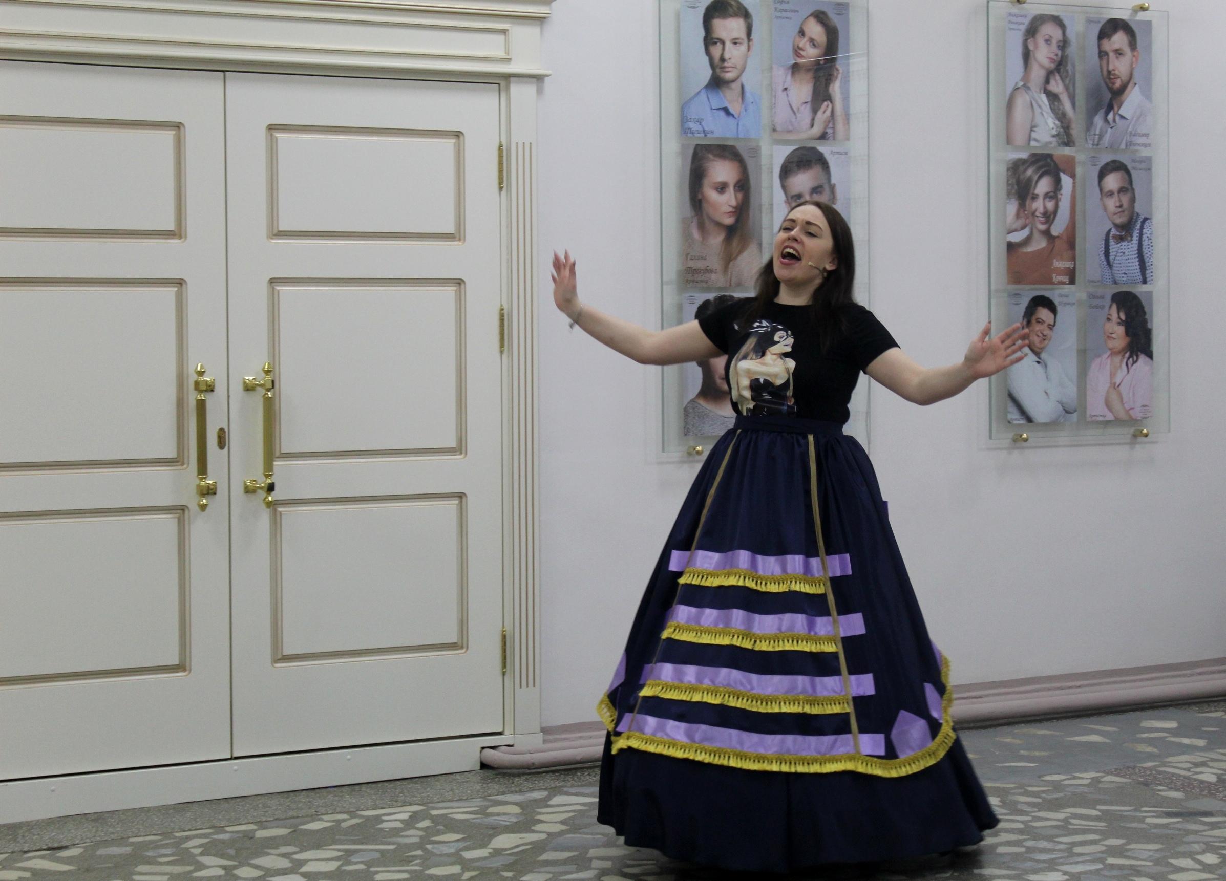 Новая актриса в женитьбе Бальзаминова (1)