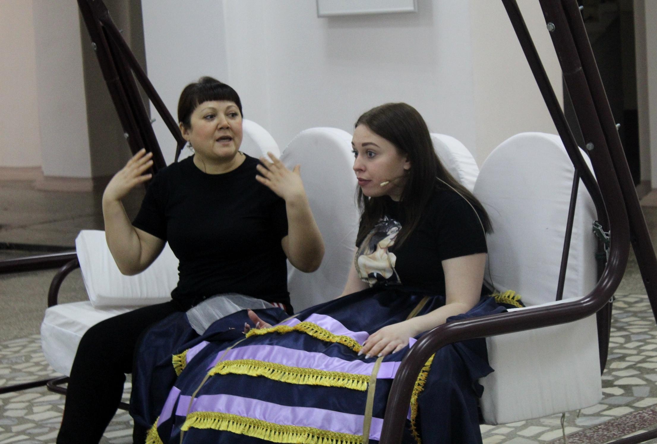 Новая актриса в женитьбе Бальзаминова (2)