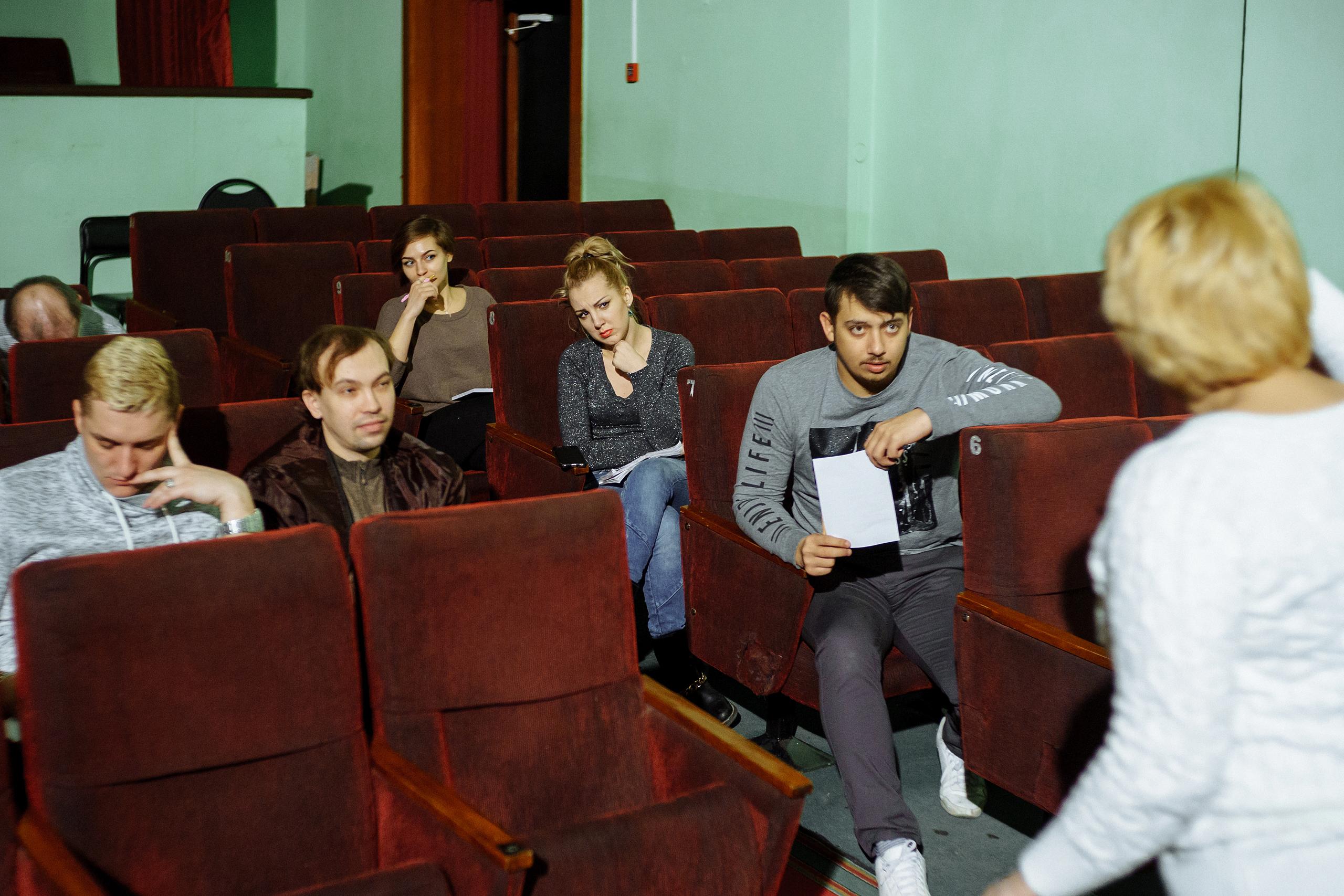 Новые лица в нашем театре (1)