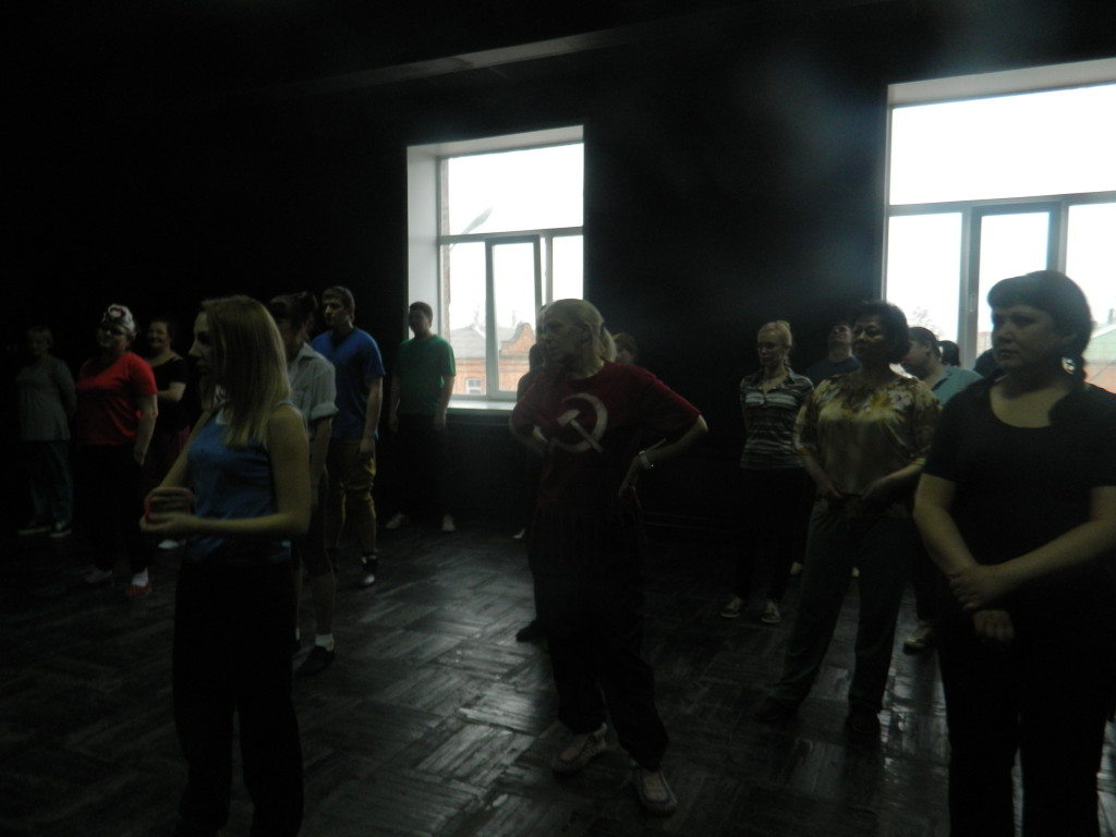 мастер-класс по сценическому движению