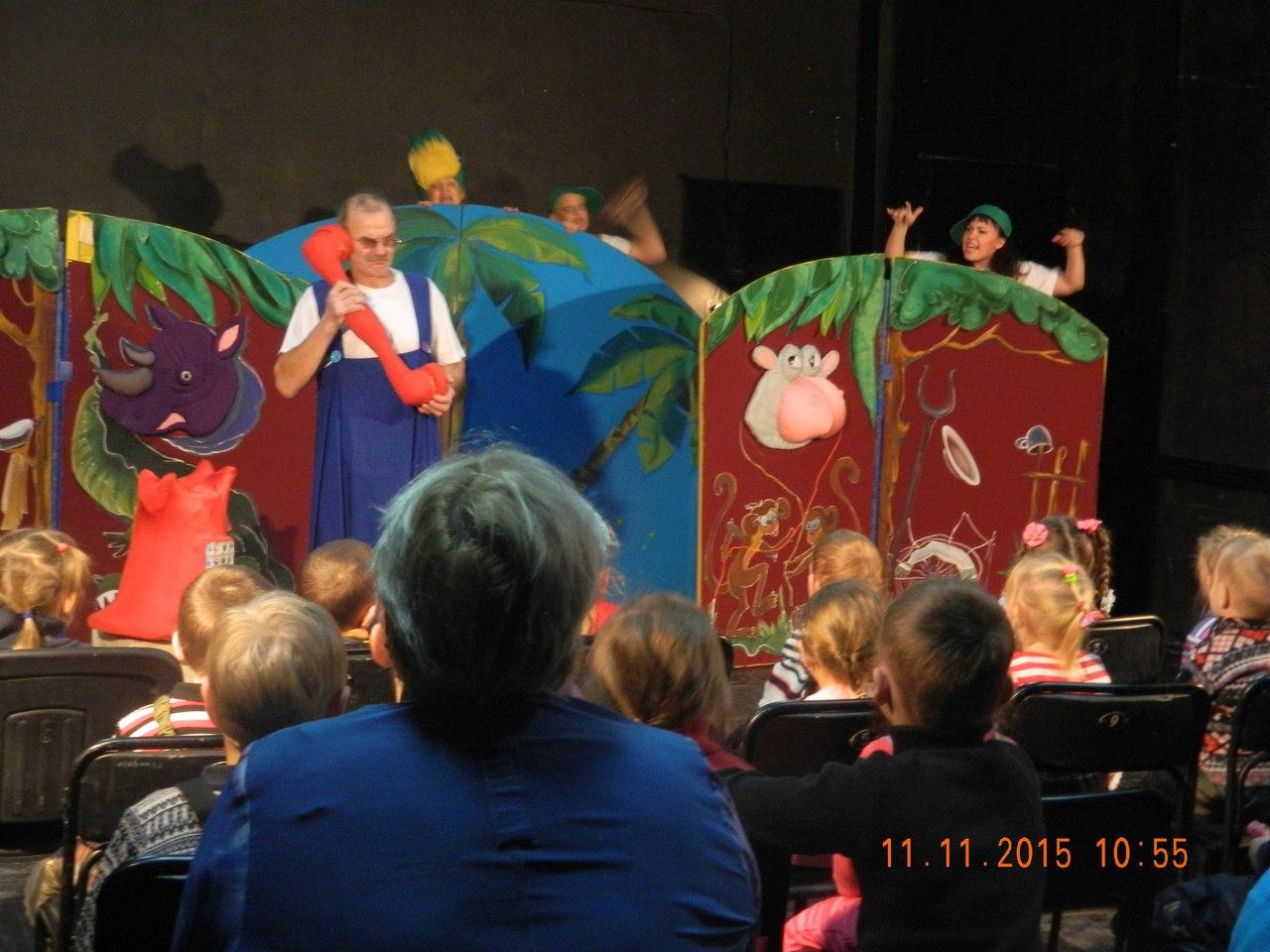 Театр посетили главные зрители! (2)