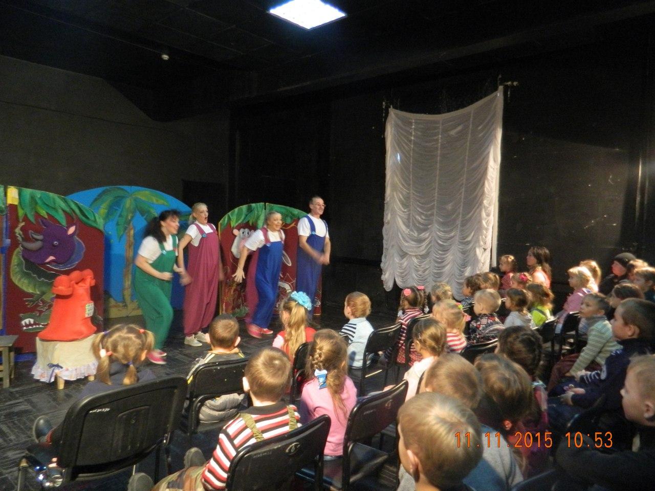 Театр посетили главные зрители! (3)
