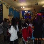 Сегодня на новогодней программе Весёлый маскарад были ребятишки из санаторной школы! (2)