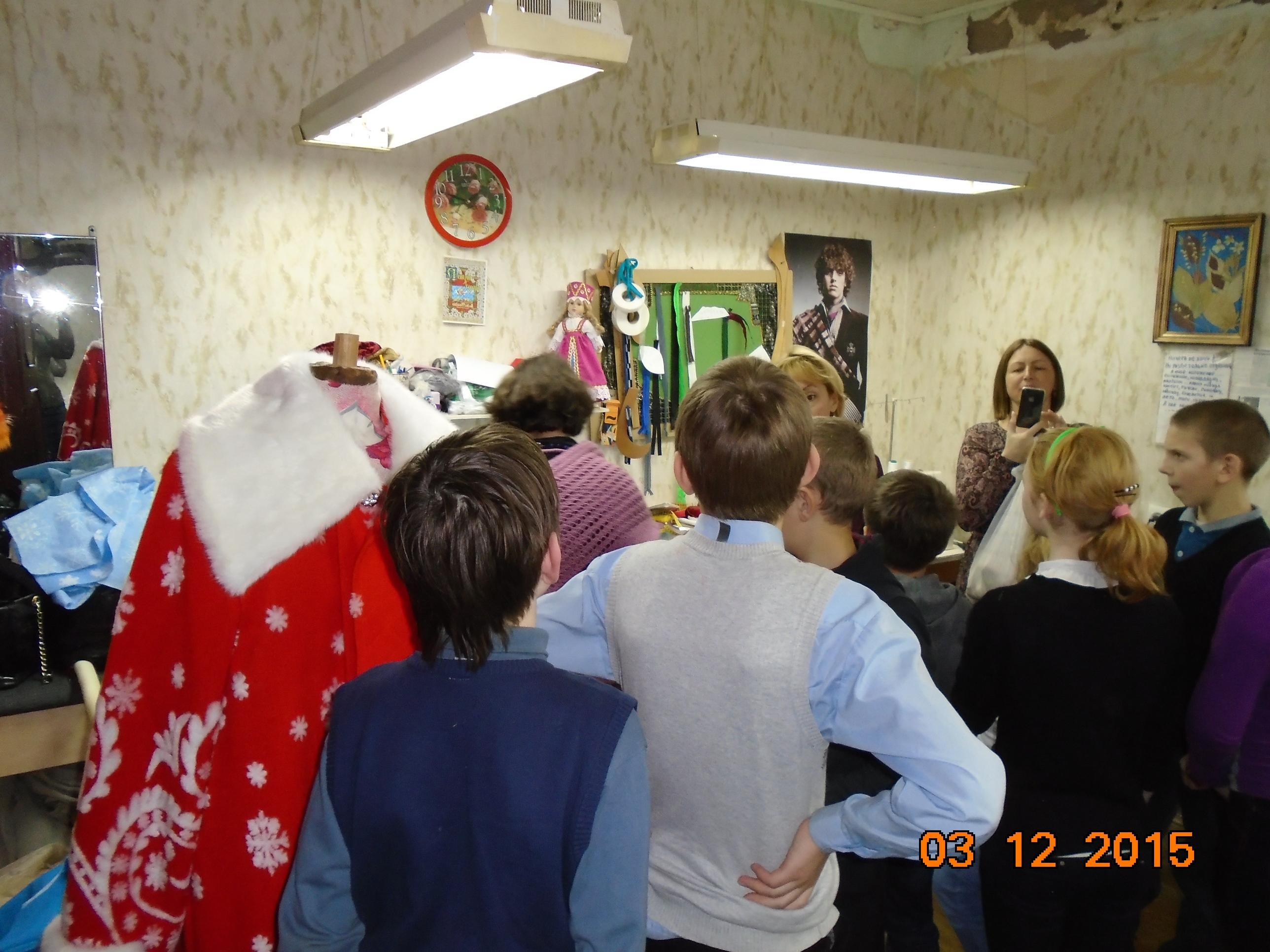 Юные поклонники театра -ребята из коррекционной школы (2)