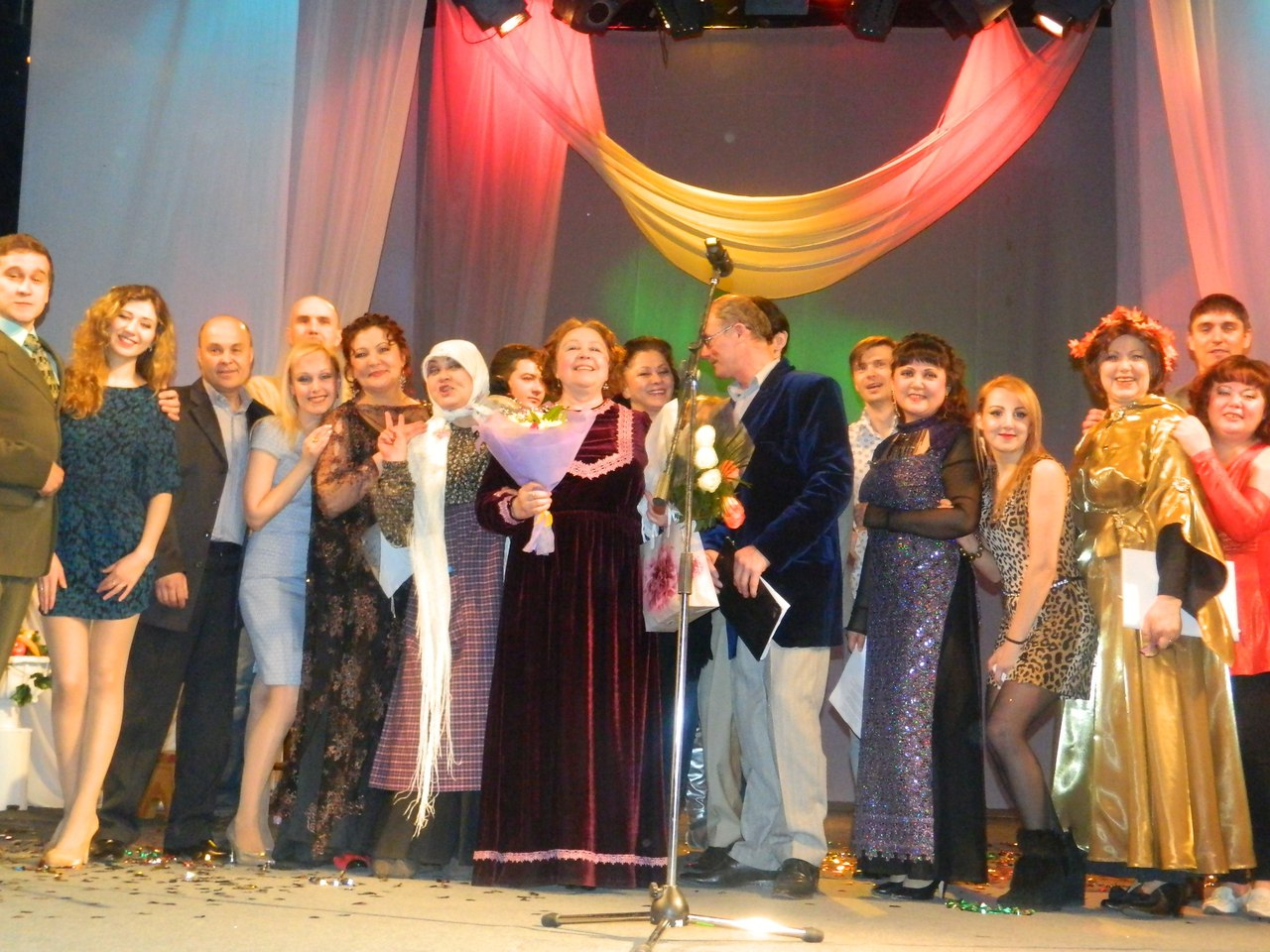 творческий вечер Валентины Орловой Я второй раз в Сибири (2)