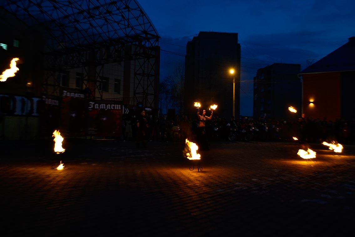 «Fire show» для новой постановки «Гамлет.NEXT» 5
