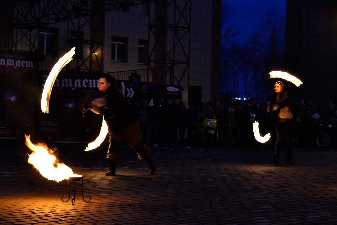 «Fire show» для новой постановки «Гамлет.NEXT» 6