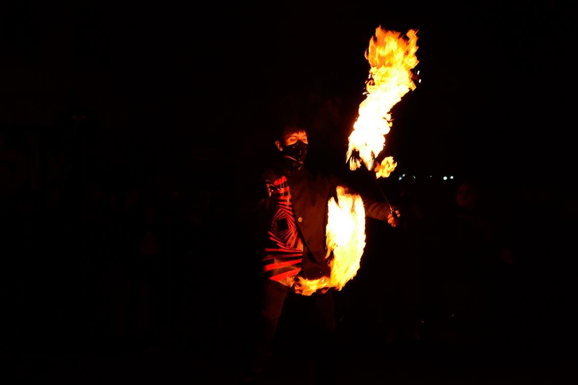 «Fire show» для новой постановки «Гамлет.NEXT» 7