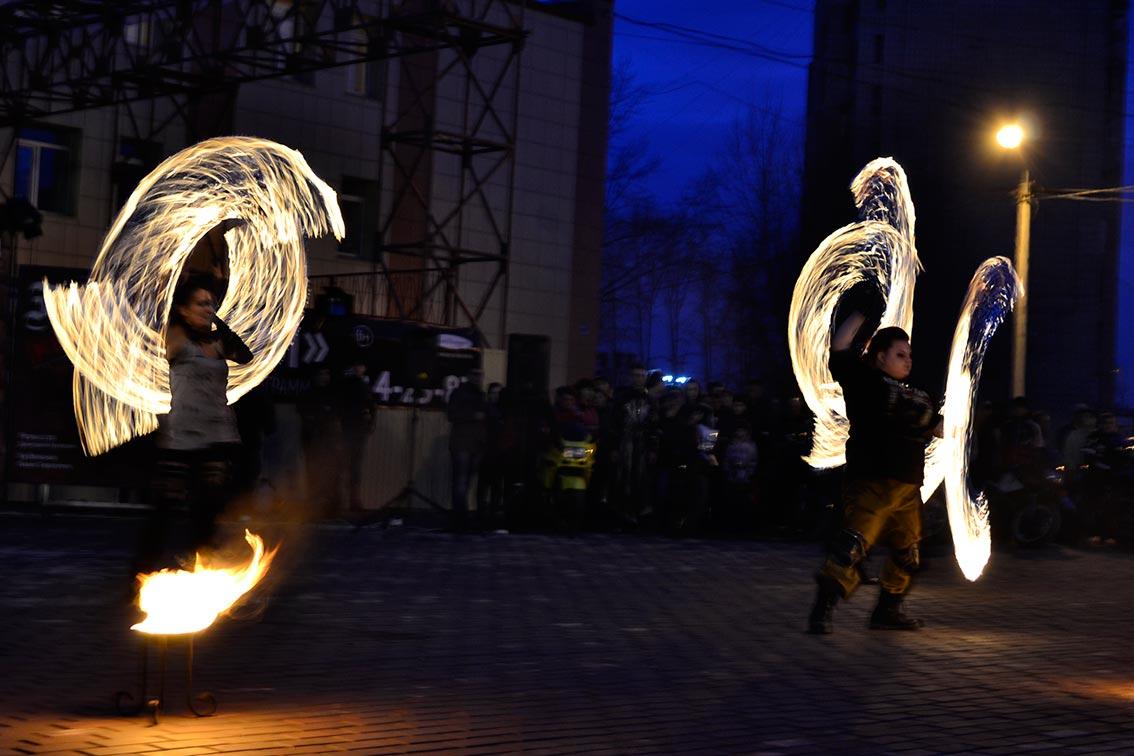 «Fire show» для новой постановки «Гамлет.NEXT» 8