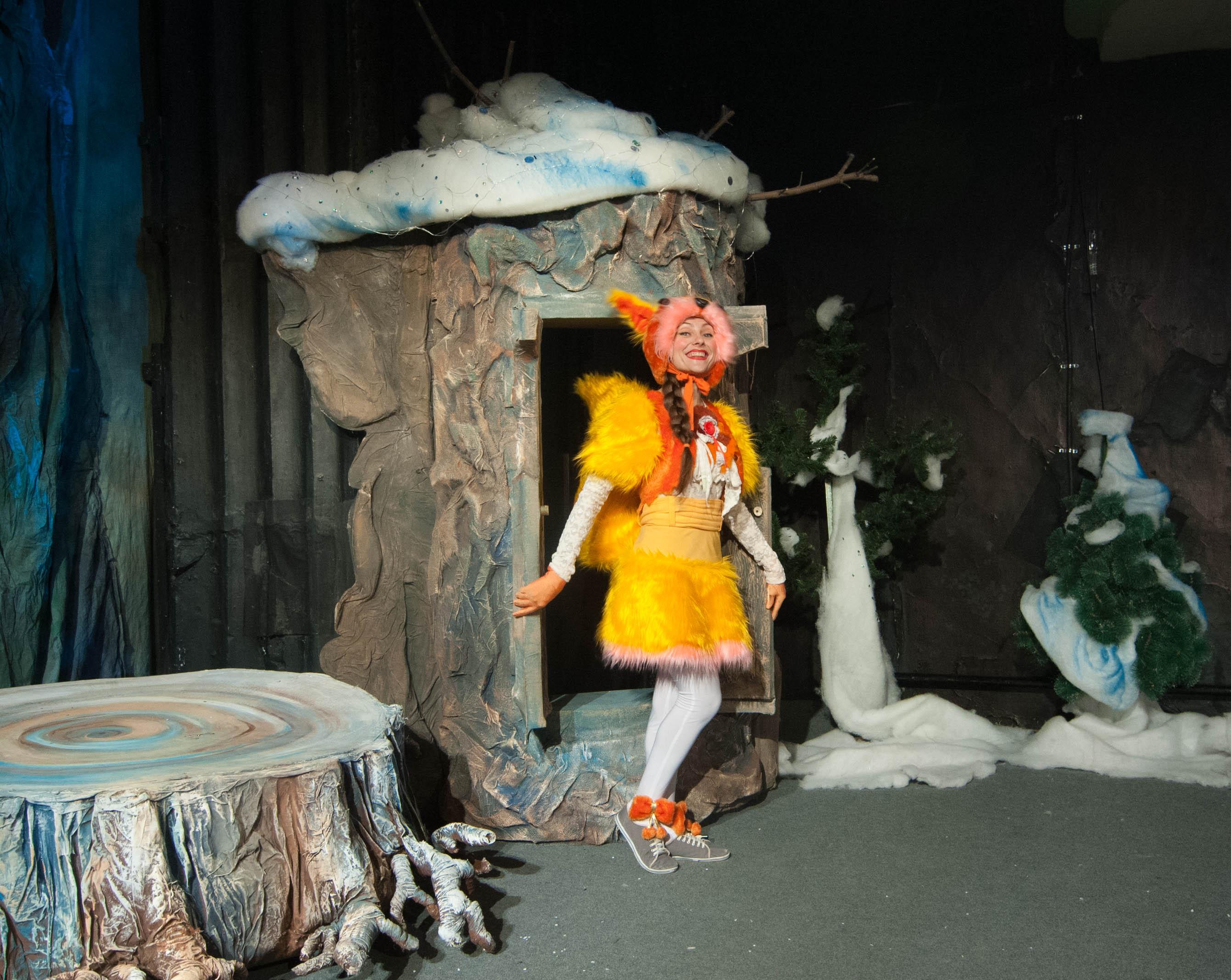 Премьера Снегуркиной школы состоялась в ачинском драмтатре 2