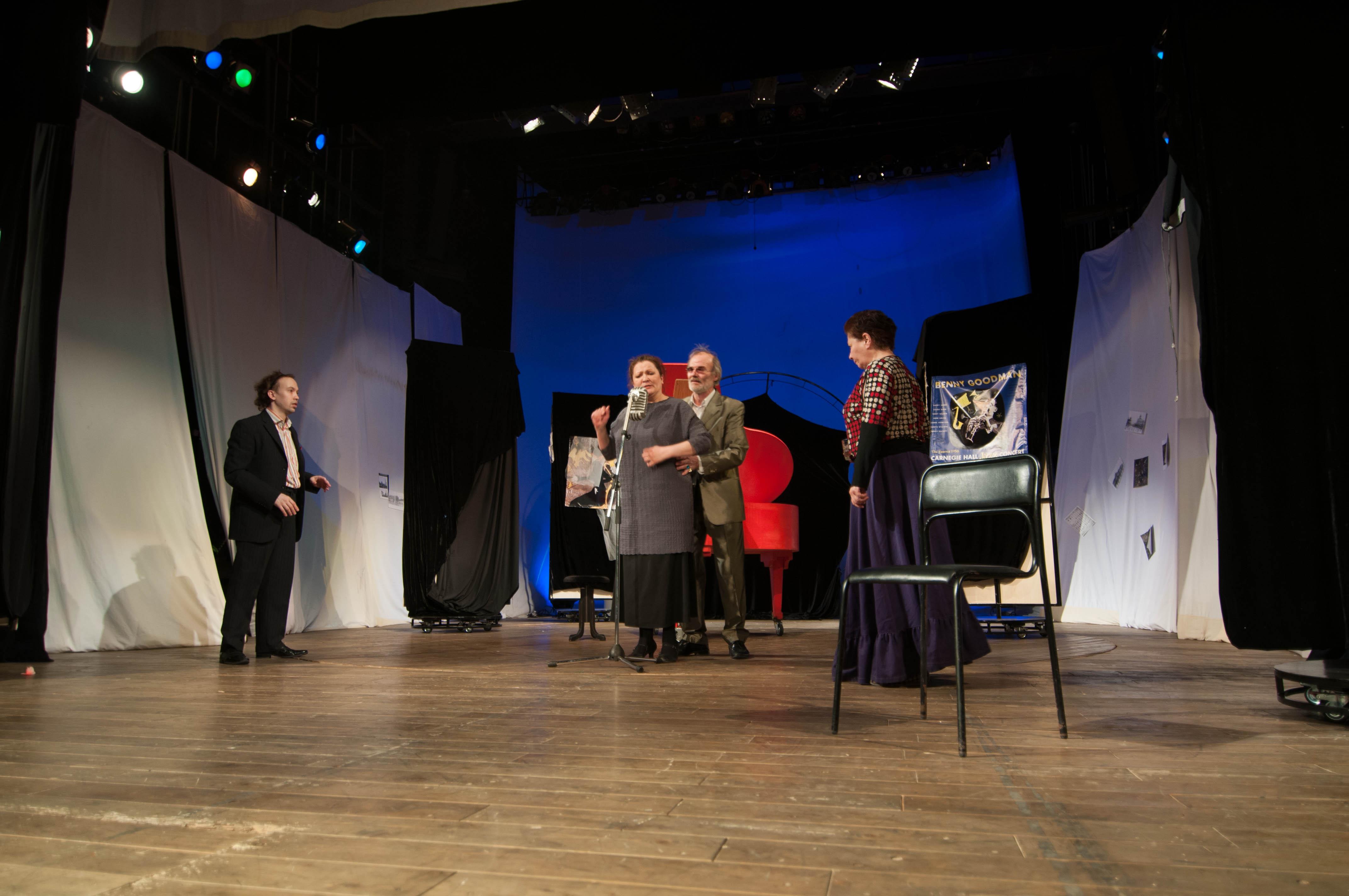 В АДТ на подходе премьера по легендарной пьесе о необычной певице (1)