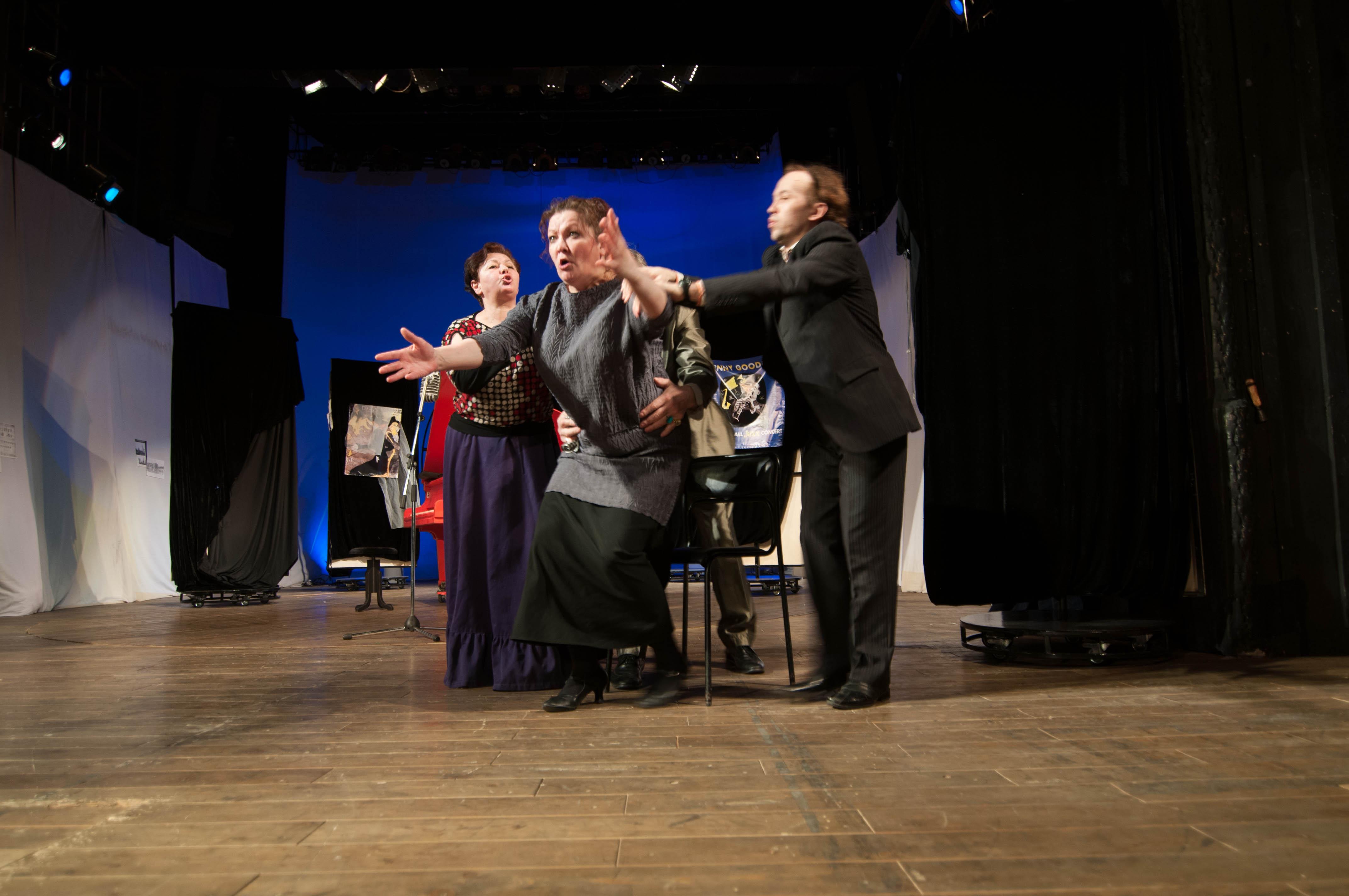 В АДТ на подходе премьера по легендарной пьесе о необычной певице (2)