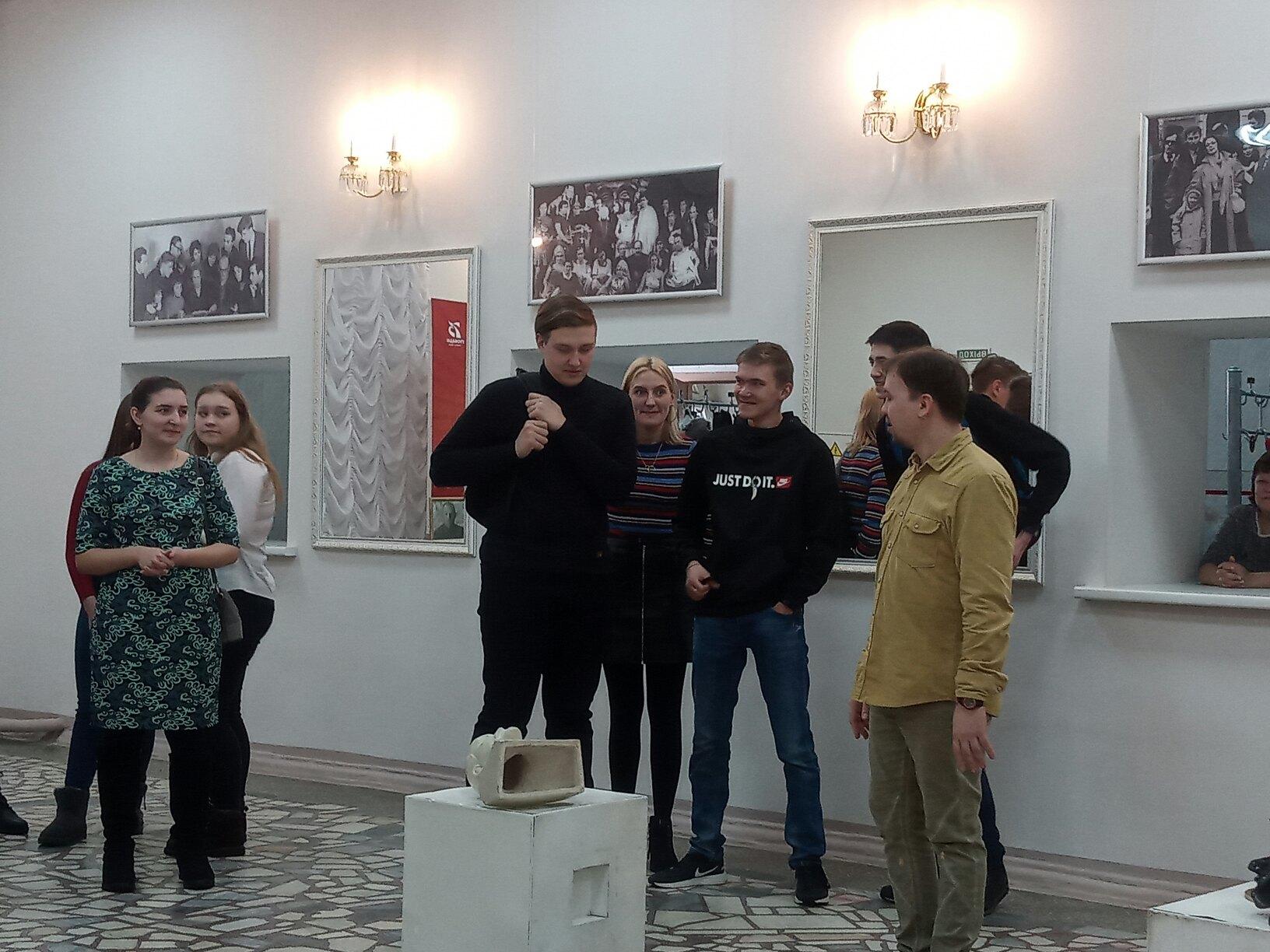 Студенты Техникума нефти и газа приняли участие в проекте Театр Образование (2)