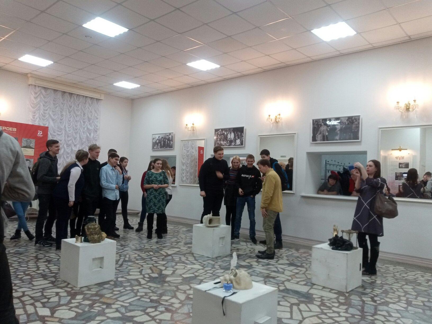 Студенты Техникума нефти и газа приняли участие в проекте Театр Образование (3)