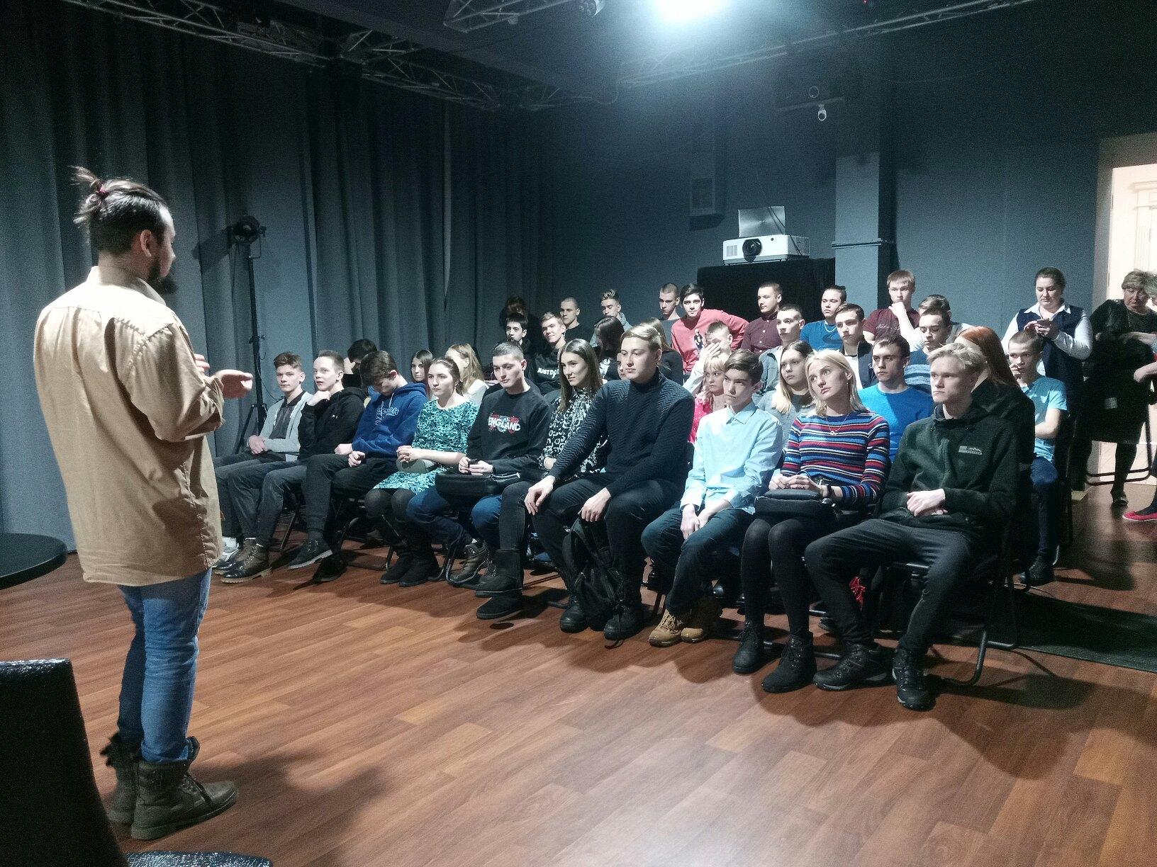 Студенты Техникума нефти и газа приняли участие в проекте Театр Образование (4)