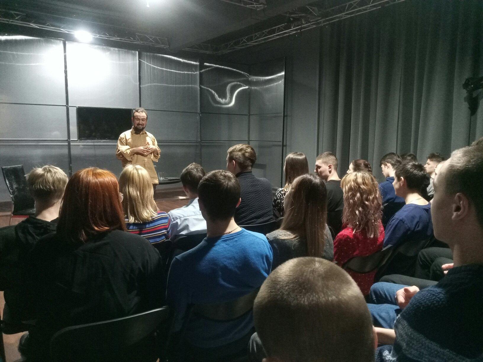Студенты Техникума нефти и газа приняли участие в проекте Театр Образование (5)
